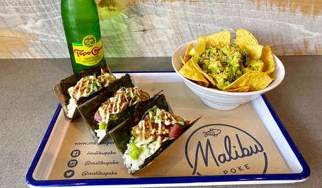 Hybrid Seafood Tacos
