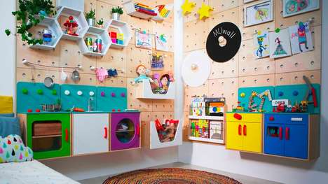 Kid-Friendly Modular Walls