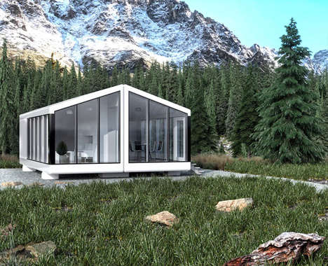 3D-Printed Prefab Mobile Homes