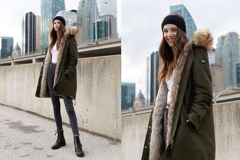 Faux Fur-Lined Outerwear