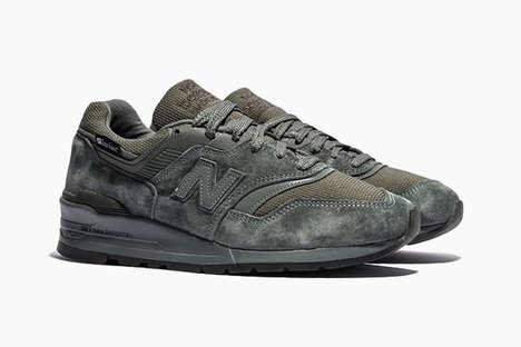 Durable Multi-Material Sneakers