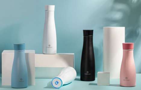 Smart Self-Cleaning Water Bottles