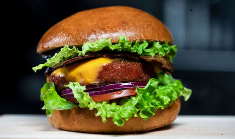 Vegan-Friendly Bacon Cheeseburgers