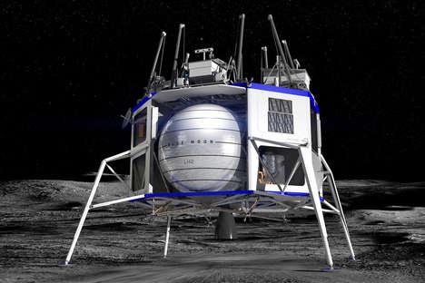 Lunar Lander Design Collaborations