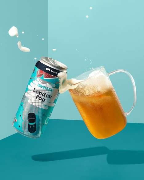 Tea-Inspired Beer Beverages