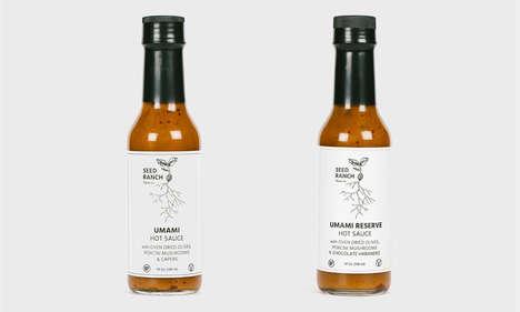 Premium Umami Hot Sauces