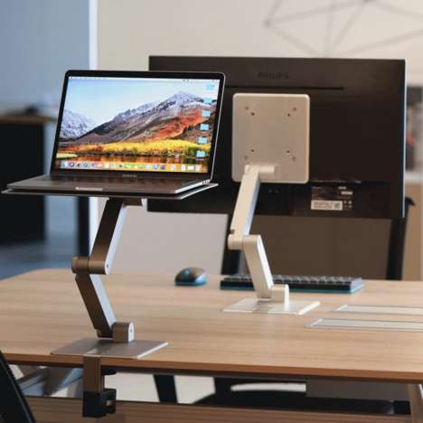 Portable Sit-to-Stand Desks