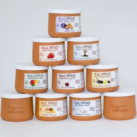 Terracotta Yogurt Pots