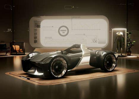 Customizable Digital Racing Vehicles