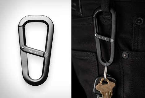 Demure Keychain Carabiners