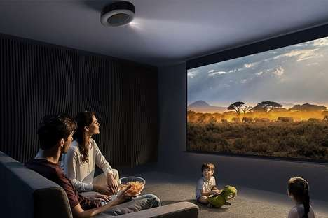 4K 3D Audio Projectors
