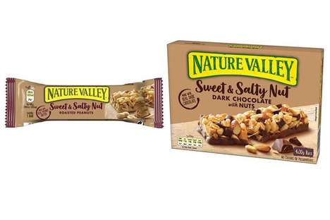 Better-for-You Snack Bar Branding