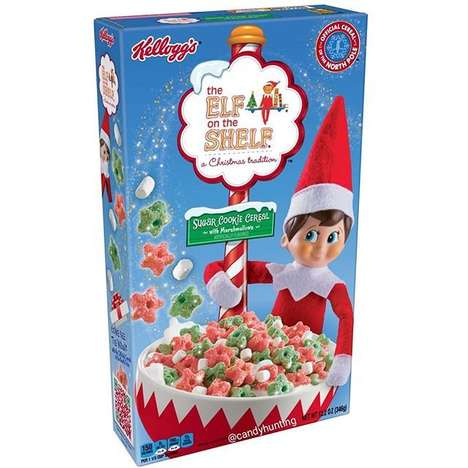 Christmas Character Breakfast Cereals