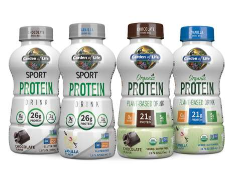Clean Protein Beverages