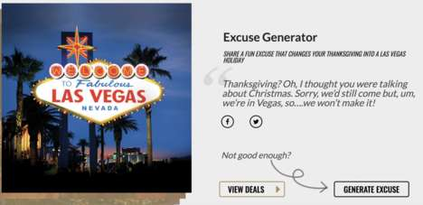 Thanksgiving Excuse Generator