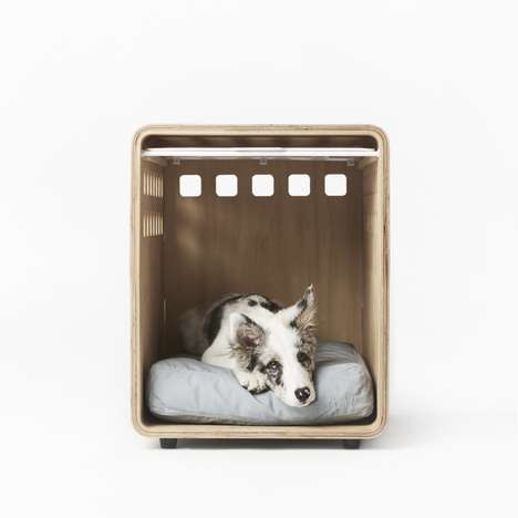 Scandinavian Dog Crates