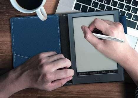 Handwriting-Friendly Digital Notebooks