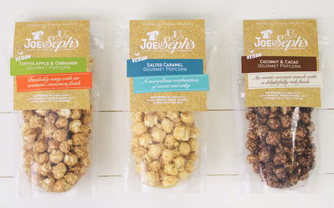 Vegan-Friendly Popcorn Snacks