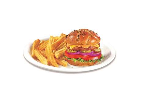 Diner-Style Meatless Burgers