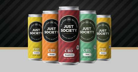 CBD-Infused Iced Teas