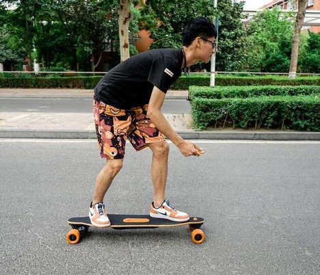 Ride-Capturing Smart Skateboards