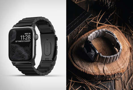 Aesthetic-Matching Smartwatch Straps
