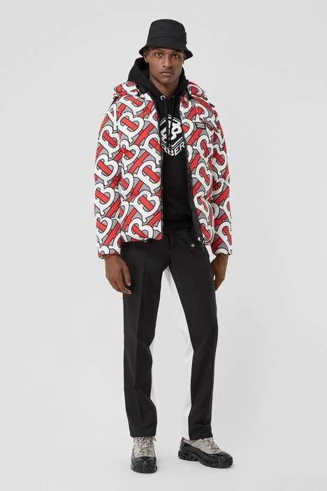Monogram Luxe Puffer Coats