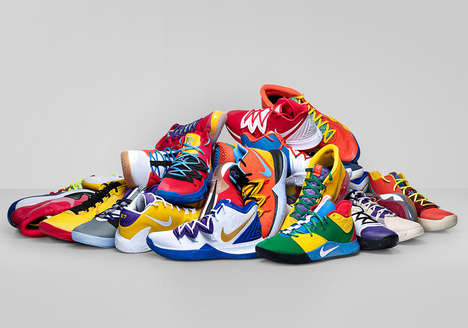 Athlete-Designed Basketball Shoes - NBA Stars Designed Shoes with Nike By You for Opening Night