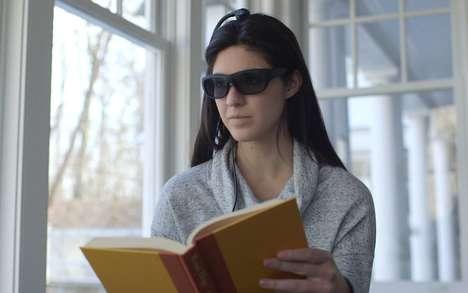 Anti-Distraction Smart Glasses