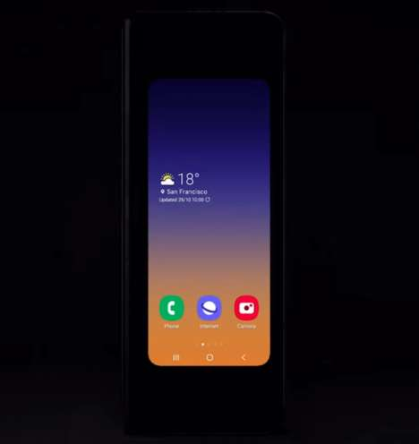Flip Phone-Inspired Foldable Phones