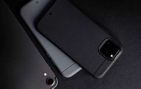 Polymer-Infused Smartphone Protectors