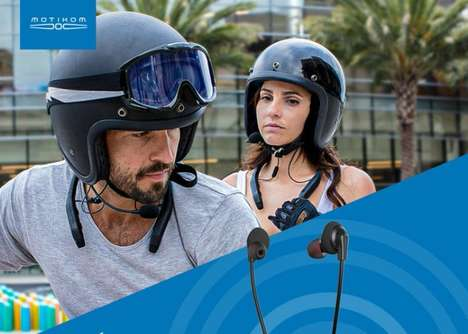 Helmet Intercom Audio Accessories
