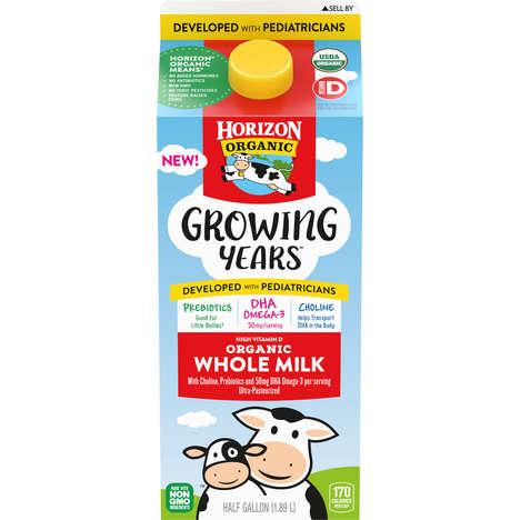 Kid-Nourishing Whole Milks