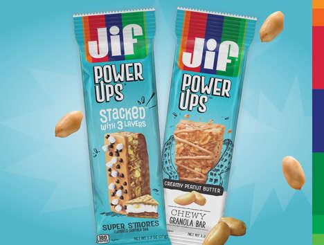 Peanut-First Granola Bars