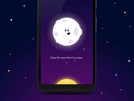 Immersive Animation Alarm Apps