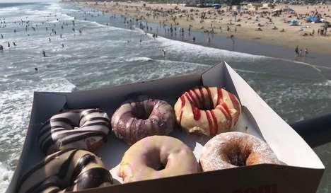 Cake-Like Vegan Donuts