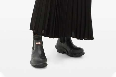 Sleek Designer Rain Boots