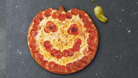 Pumpkin-Shaped Pizzas