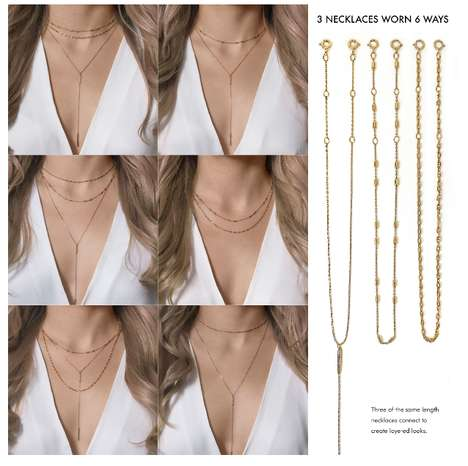 Multifunctional Necklace Sets