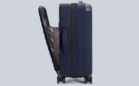 Soft-Shell Expandable Suitcases