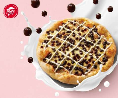 Bubble Tea Dessert Pizzas