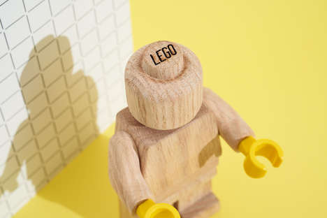LEGO's Collectible Wooden Minifigure Inspires Creativity