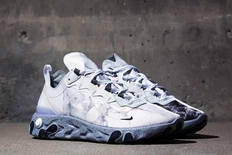 Rapper-Designed Marble-Like Sneakers