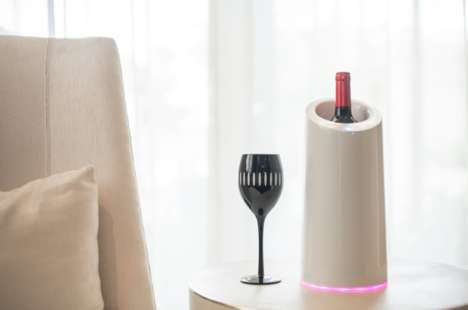 Wine Flavor-Enhancing Devices