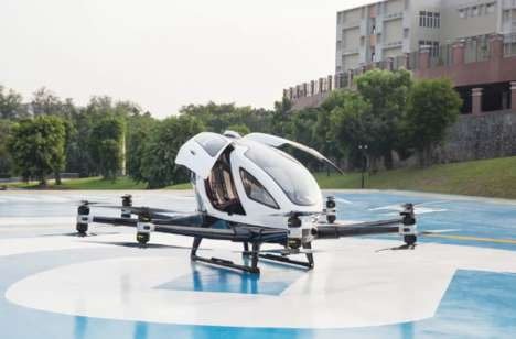 Drone Taxi Public Offers