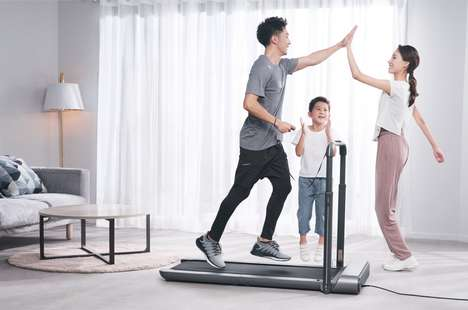 Space-Saving Treadmills