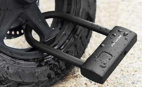 Biometric Bicycle Security Locks