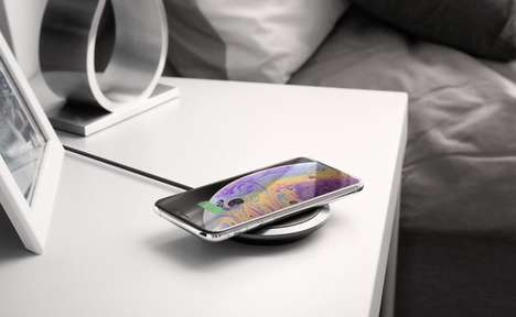 Leather-Accented Wireless Chargers