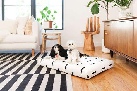 Chic Orthopedic Dog Beds