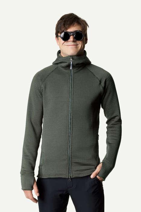 Anti-Microfiber-Shedding Outerwear